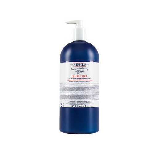 kiehl's Body Fuel All-In-One Energizing Wash 1L