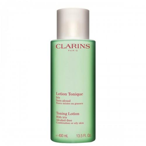 CLARINS Lotion Tonique Sans Alcool Iris Pelli miste o grasse 400ml