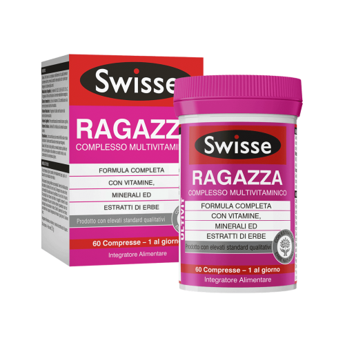 SWISSE MULTIVITAMINICO RAGAZZA 60compresse