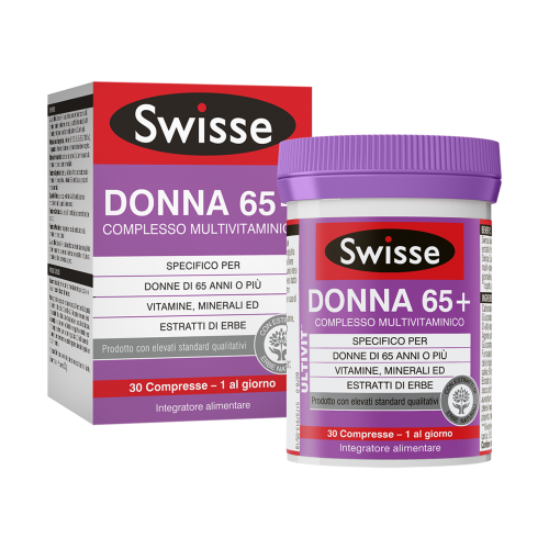 SWISSE MULTIVITAMINICO DONNA 65+ 30compresse