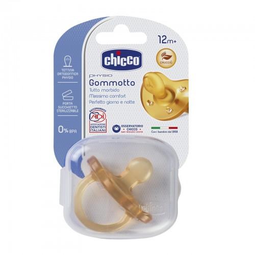 CHICCO Succhietto Gommotto Physio 12m+ Caucciù