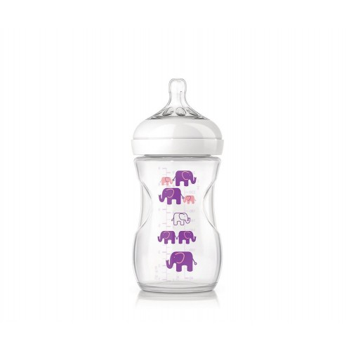AVENT PHILIPS BIBERON NATURAL  260ML 1m+