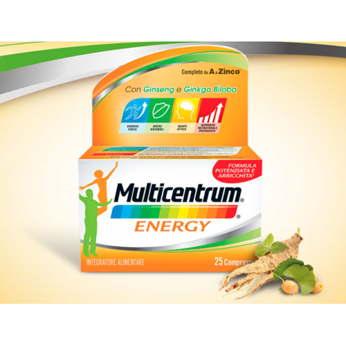 Multicentrum ENERGY 25compresse