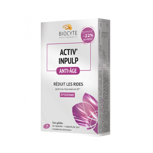 BIOCYTE Activ 'Inpulp - integratore alimentare anti-età 19g 30capsule