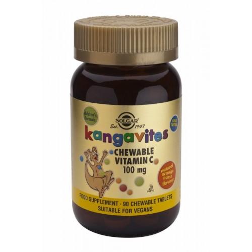 Solgar Cangurini Vitamina C 100  90tavolette masticabili