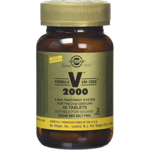 Solgar Formula VM 2000 60 tavolette
