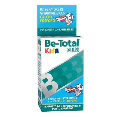 Be-Total Kids Plus 30tavolette masticabili gusto banana