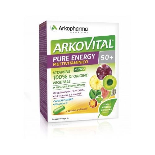 Arkopharma ARKOVITAL PURE ENERGY 50+ 60capsule