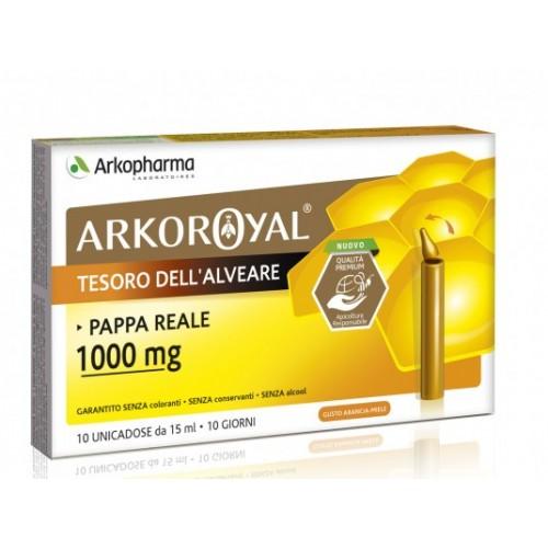 Arkopharma ARKOROYAL PAPPA REALE 1000 MG 15ml*10unicadose