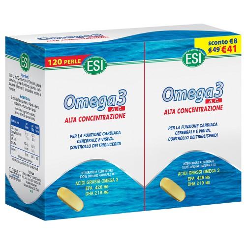 ESI Integratore naturale con Omega 3 e Vitamina E 180 g