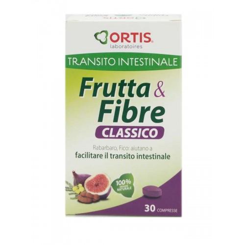 ORTIS FRUTTA E FIBRE TRANSITO CLASSICO 30 COMPRESSE