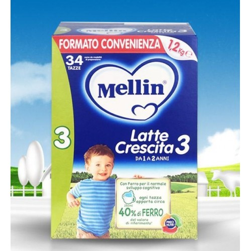 MELLIN LATTE CRESCITA 3 POLVERE 1,2KG