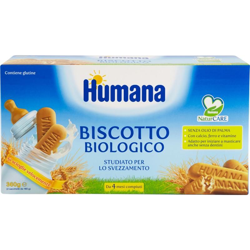 HUMANA BISCOTTO BIOLOGICO 360G