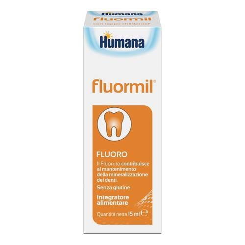 Humana FluorMil gocce prevenzione delle carie 15ml