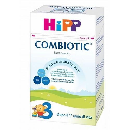 HIPP BIOLOGICO COMBIOTIC 3 LATTE DI CRESCITA IN POLVERE 600G