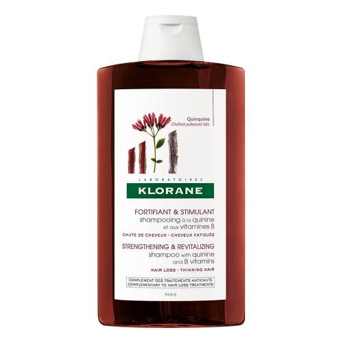 Klorane Shampoo Fortificante e Stimolante Chinina e Vitamina B 400 ml