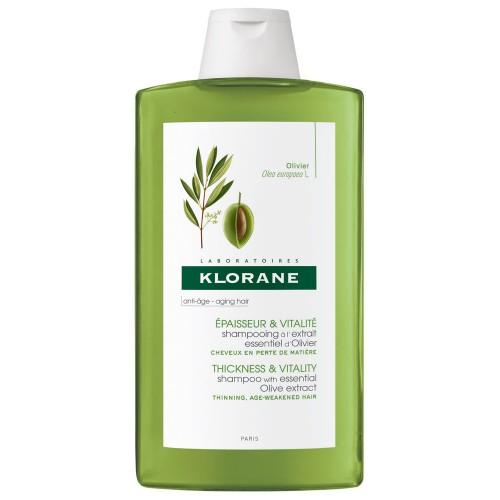 Klorane Shampoo Antiage consistenza e vitalità all'olio di oliva 400ml