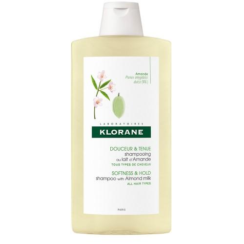 Klorane Shampoo Volumizzante al Latte di Mandorla 400 ml