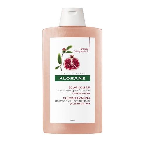 Klorane Shampoo al melograno indicato per i capelli tinti 400ml