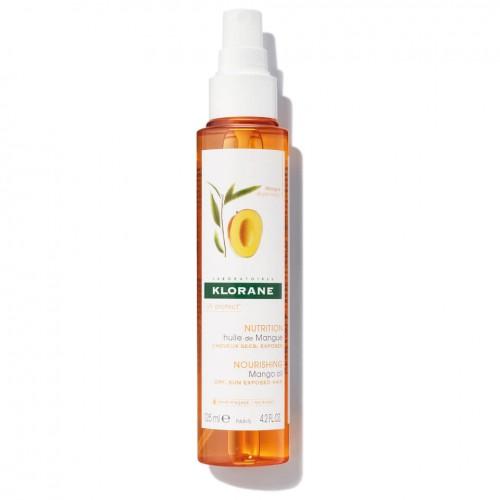 Klorane Olio di Mango nutritivo e riparatore per capelli 125ml