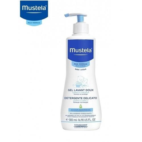 Mustela Gel Detergente Delicato Pelli Normali 500ml