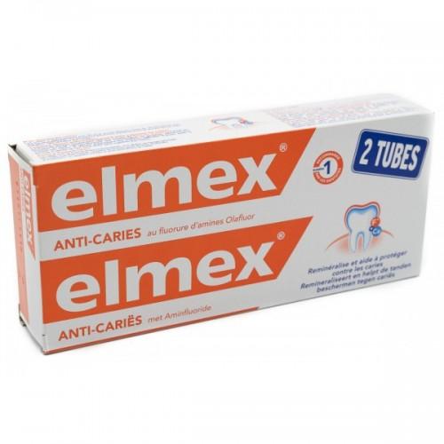Elmex Dentifricio Protezione Carie 2 x 75 ml