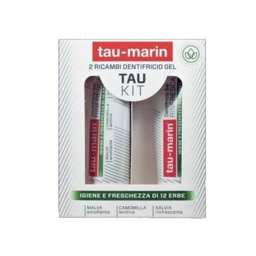Taumarin kit dentifrici gel erbe 2x20ml