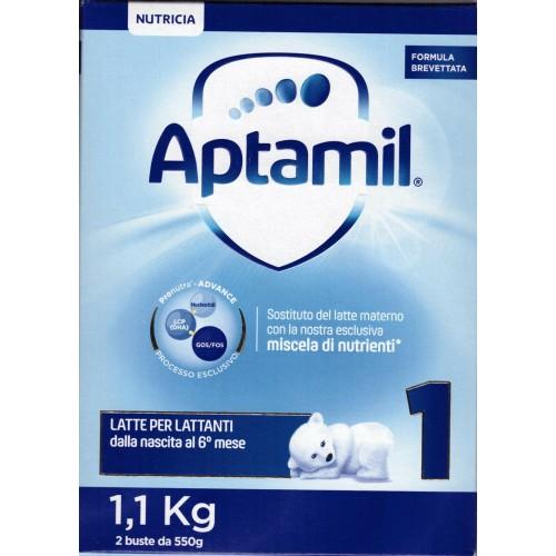 Aptamil 1 Polvere 1100g 0-6°mese