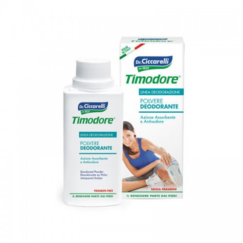 Timodore Polvere Deodorante 75g