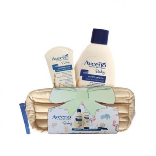 Aveeno Baby Set Bagnetto 354ml + Crema Emolliente 223ml