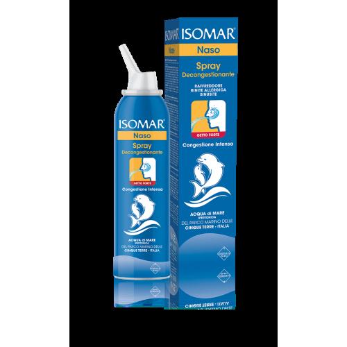 Isomar Naso Spray Decongestionante Acqua di Mare Getto Forte 200ml