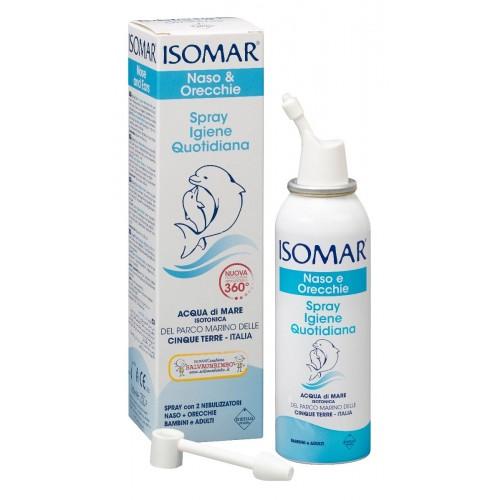 Soluzione acqua di mare isomar spray igiene quotidiana 100 ml