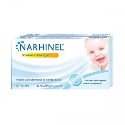Soluzione fisiologica per aspiratore nasale narhinel 20 fiale da 5ml