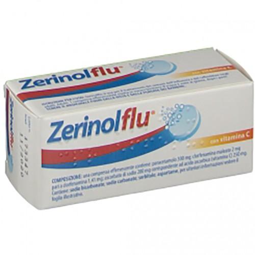 ZerinolFlu con Vitamina C 12 Compresse Effervescenti