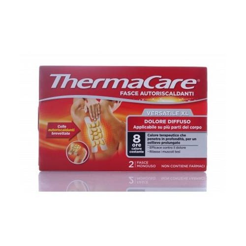 Thermacare Fascia Versatile XL 2 Fasce Monouso